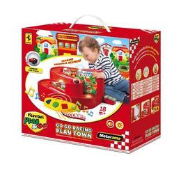 Jucarie interactiva bebelusi Ferrari cu lumini si sunete - Motorama