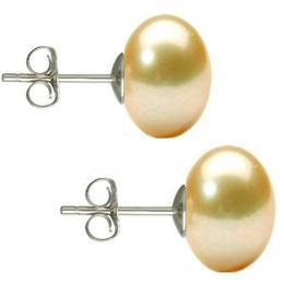thumb cercei argint cu perle naturale buton crem de 10 mm cadouri si perle 1 - Cercei Argint cu Perle Naturale Buton, Crem, de 10 mm - Cadouri si perle