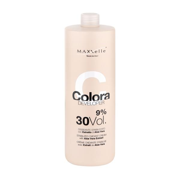 Oxidant cu Extract Organic de Aloe Vera - Maxxelle Colora Developer Stabilized Oxidant Cream with Aloe Vera Extract, 9% 30 Vol, 1000ml