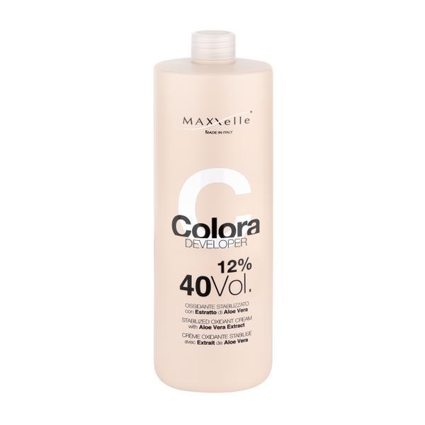 Oxidant cu Extract Organic de Aloe Vera - Maxxelle Colora Developer Stabilized Oxidant Cream with Aloe Vera Extract, 12% 40 Vol, 1000ml imagine produs