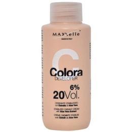 Oxidant cu Extract Organic de Aloe Vera – Maxxelle Colora Developer Stabilized Oxidant Cream with Aloe Vera Extract, 6% 20 Vol, 100ml de la esteto.ro