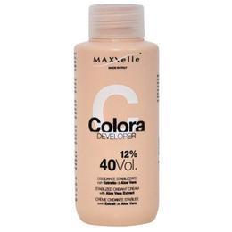 Oxidant cu Extract Organic de Aloe Vera – Maxxelle Colora Developer Stabilized Oxidant Cream with Aloe Vera Extract, 12% 40 Vol, 100ml de la esteto.ro