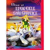 Eliza si lebedele salbatice. Carte de colorat - H.C. Andersen, editura Omnibooks Unlimited