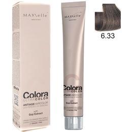 Vopsea Profesionala cu Extract de Goji – Maxxelle Colora Ultracolor Antiage Haircolor, nuanta 6.33 Intense Golden Dark Blonde de la esteto.ro