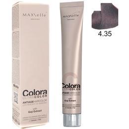 Vopsea Profesionala cu Extract de Goji – Maxxelle Colora Ultracolor Antiage Haircolor, nuanta 4.35 Cocoa Chestnut de la esteto.ro