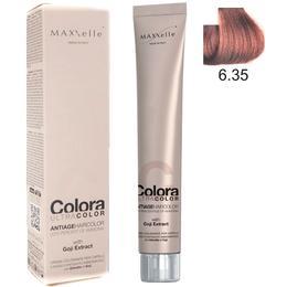 Vopsea Profesionala cu Extract de Goji – Maxxelle Colora Ultracolor Antiage Haircolor, nuanta 6.35 Cocoa Dark Blonde de la esteto.ro