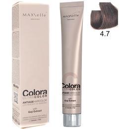 Vopsea Profesionala cu Extract de Goji – Maxxelle Colora Ultracolor Antiage Haircolor, nuanta 4.7 Chocolate Chestnut de la esteto.ro
