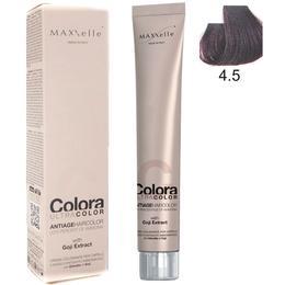 Vopsea Profesionala cu Extract de Goji – Maxxelle Colora Ultracolor Antiage Haircolor, nuanta 4.5 Mahogany Chestnut de la esteto.ro
