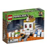 LEGO Minecraft - Arena craniului 21145 pentru 7-14 ani