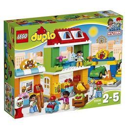 LEGO Duplo - Piata mare a orasului 10836 pentru 2-5 ani