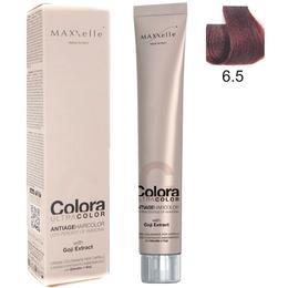 Vopsea Profesionala cu Extract de Goji - Maxxelle Colora Ultracolor Antiage Haircolor, nuanta 6.5 Mahogany Dark Blonde