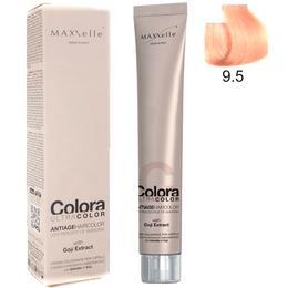Vopsea Profesionala cu Extract de Goji – Maxxelle Colora Ultracolor Antiage Haircolor, nuanta 9.5 Mahogany Very Light Blonde de la esteto.ro