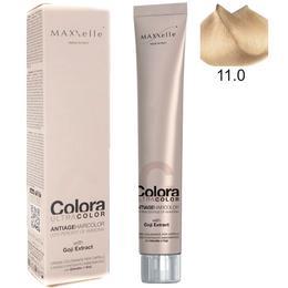 Vopsea Profesionala cu Extract de Goji – Maxxelle Colora Ultracolor Antiage Haircolor, nuanta 11.0 Super Platinum Natural Blonde de la esteto.ro