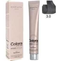 Vopsea Profesionala cu Extract de Goji – Maxxelle Colora Ultracolor Antiage Haircolor, nuanta 3.0 Dark Chestnut de la esteto.ro