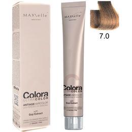 Vopsea Profesionala cu Extract de Goji – Maxxelle Colora Ultracolor Antiage Haircolor, nuanta 7.0 Blonde de la esteto.ro