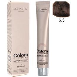 Vopsea Profesionala cu Extract de Goji – Maxxelle Colora Ultracolor Antiage Haircolor, nuanta 6.3 Dark Blonde Golden de la esteto.ro