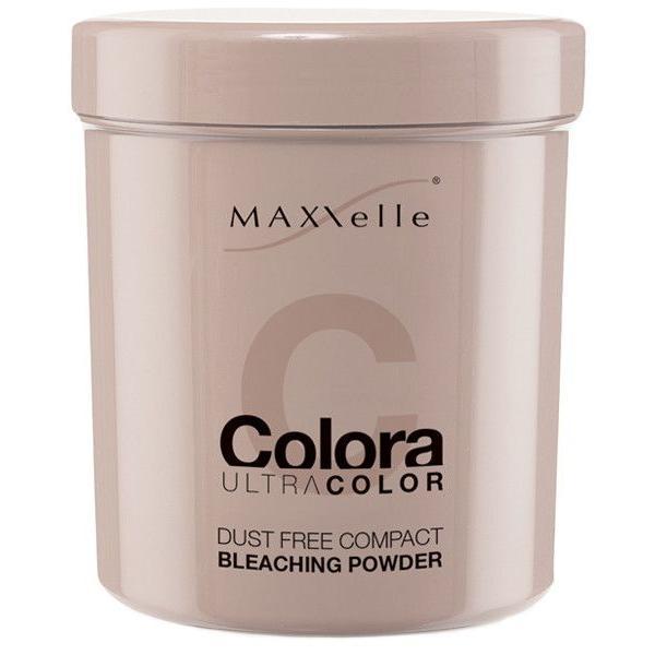 Pudra Decoloranta Compacta - Maxxelle Colora Ultracolor Dust Free Compact Bleaching Powder, 500g poza