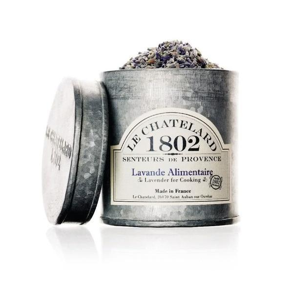 Ceai Lavanda Alimentara de Provence 300ml Cutie Galva Le Chatelard 1802 imagine produs