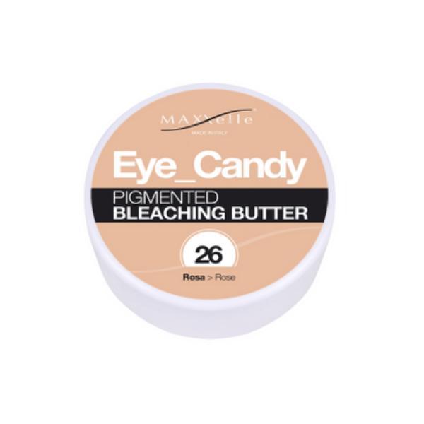 Unt Decolorant Pigmentat - Maxxelle Eye Candy Pigmented Bleaching Butter, nuanta 26 Rose, 100g imagine produs