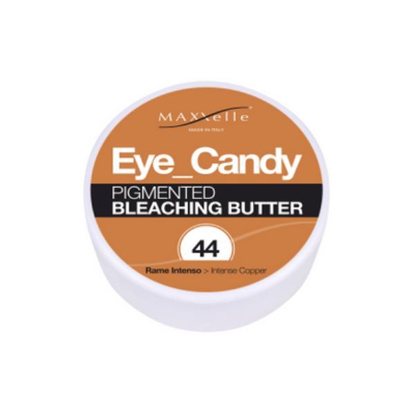 Unt Decolorant Pigmentat - Maxxelle Eye Candy Pigmented Bleaching Butter, nuanta 44 Intense Copper, 100g imagine produs
