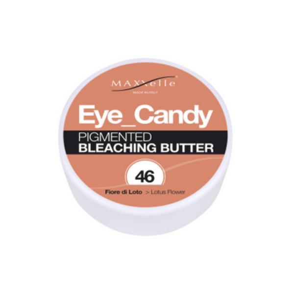 Unt Decolorant Pigmentat - Maxxelle Eye Candy Pigmented Bleaching Butter, nuanta 46 Lotus Flower, 100g