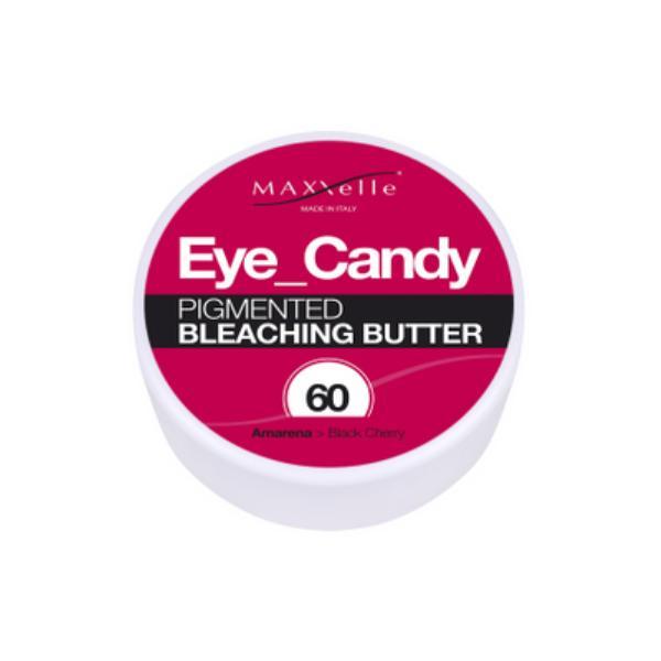 Unt Decolorant Pigmentat - Maxxelle Eye Candy Pigmented Bleaching Butter, nuanta 60 Black Cherry, 100g imagine produs