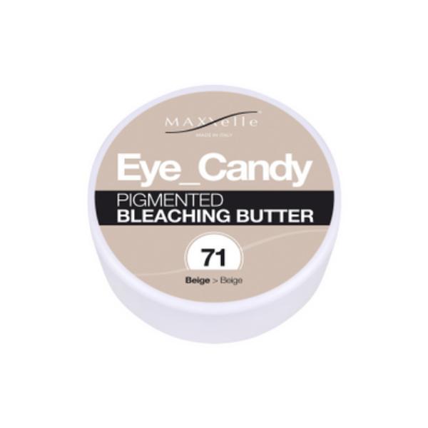 Unt Decolorant Pigmentat - Maxxelle Eye Candy Pigmented Bleaching Butter, nuanta 71 Beige, 100g