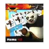 Joc de memorie Kung FU Panda Branded Toys 48 piese