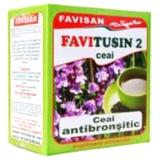 Ceai Antibronsitic Favitusin 2 Favisan, 50g