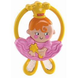 Jucarie Fisher Price Balerina, zornaitoare pentru bebelusi din plastic, roz