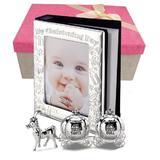 Cadou de botez pentru fetita album si cutiute pentru mot si dintisor - Juliana
