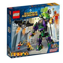 LEGO Super Heroes - Distrugerea robotului Lex Luthor 76097 pentru 7-14 ani
