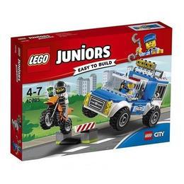 LEGO Juniors - Urmarire cu camionul de politie 10735 pentru 4 - 7 ani