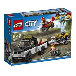 LEGO City - Echipa de curse pe ATV 60148 pentru 5-12 ani