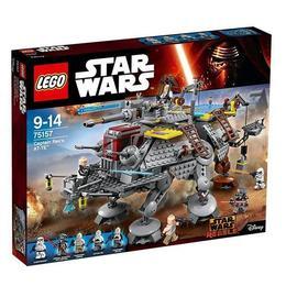 LEGO Star Wars - Vehiculul AT-TE al capitanului Rex 75157 pentru 9 -14 ani