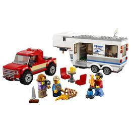 LEGO City - Great Vehicles - Camioneta si rulota 60182