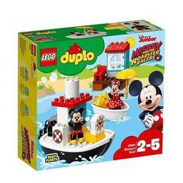 LEGO Duplo - Barca lui Mickey 10881 pentru 2-5 ani