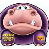 Hipopotamul. Abtibilduri colorate, editura Alias
