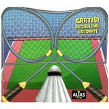 Badminton. Abtibilduri colorate