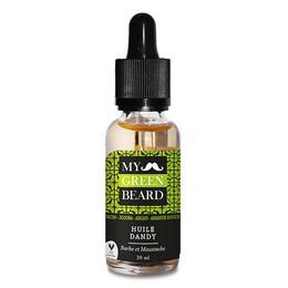 Ulei pentru barba si mustata, Dandy Beard Oil, My Green Beard 30ml