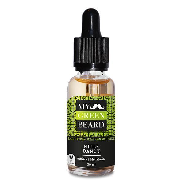 Ulei pentru barba si mustata, Dandy Beard Oil, My Green Beard 30ml esteto.ro