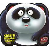 Ursul panda. Abtibilduri colorate, editura Alias