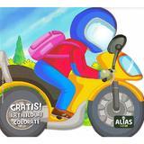 Motocicleta. Abtibilduri colorate, editura Alias