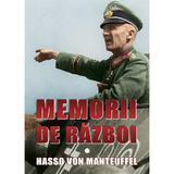 Memorii de razboi - Hasso von Manteuffel, editura Miidecarti
