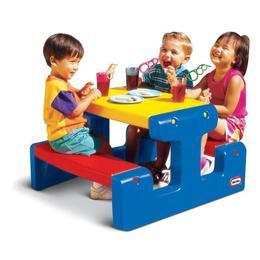 Masuta pentru picnic - albastra - Little Tikes