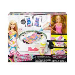Set Mattel Barbie - Atelierul de Pictura pe Rochie