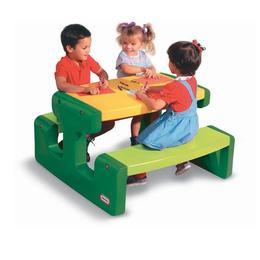 Masuta pentru picnic - verde - Little Tikes