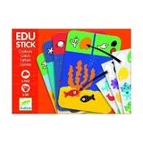 Edu - stick,stickere educative culori - Djeco