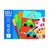Edu-stick,stickere educative cu forme geometrice - Djeco
