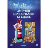 Amintiri din copilarie. la cirese - carte de colorat cu povesti, editura Eurobookids